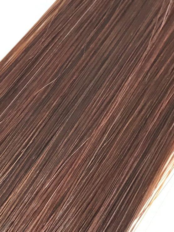 auburn hair extension