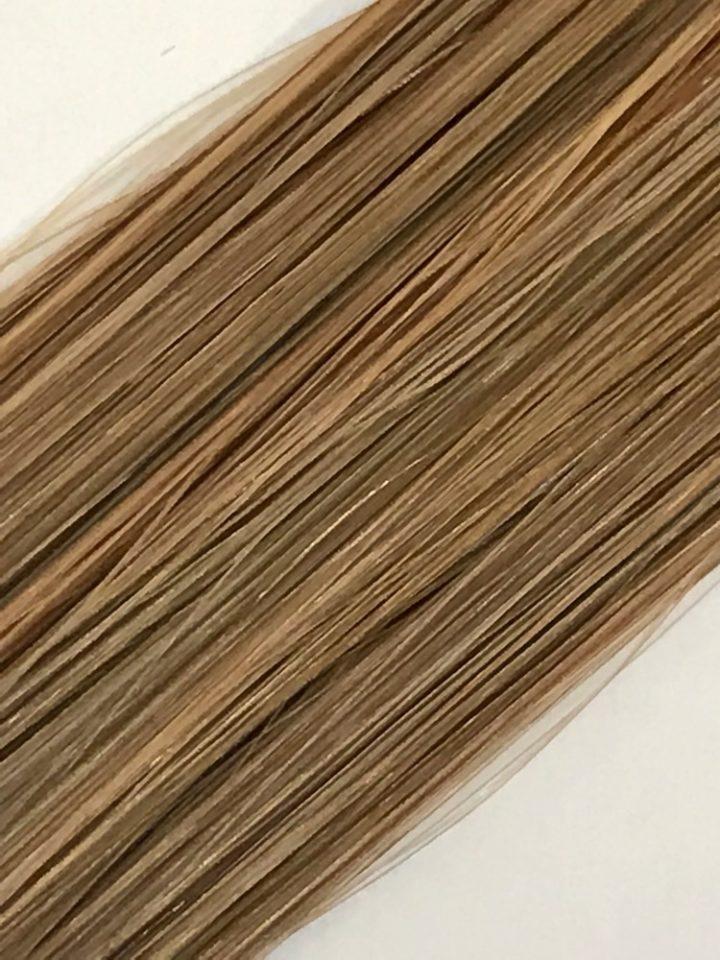 brown hair extension