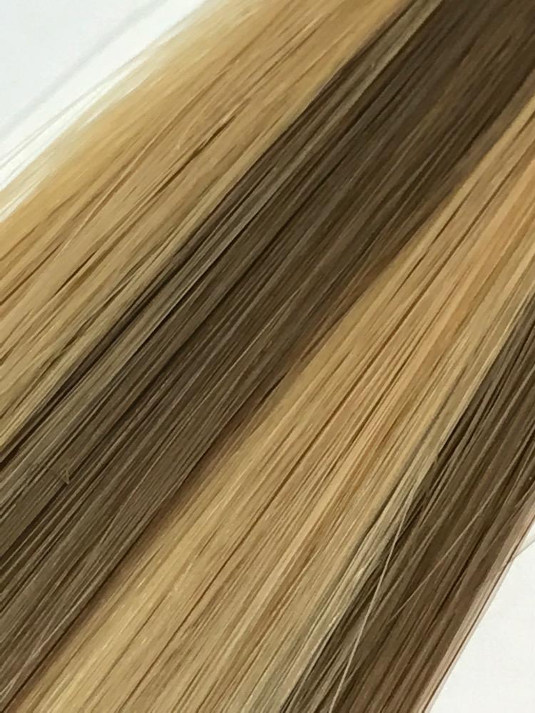 18 Tape In Natural Straight 816 Dark Ash Blondemedium Golden