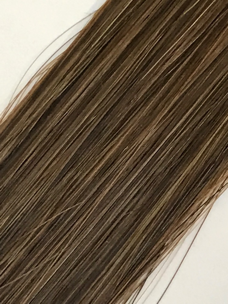 18 Keratin Natural Straight 8g Light Golden Brown Labella Hair