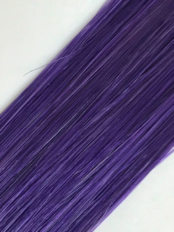 violet hair extension