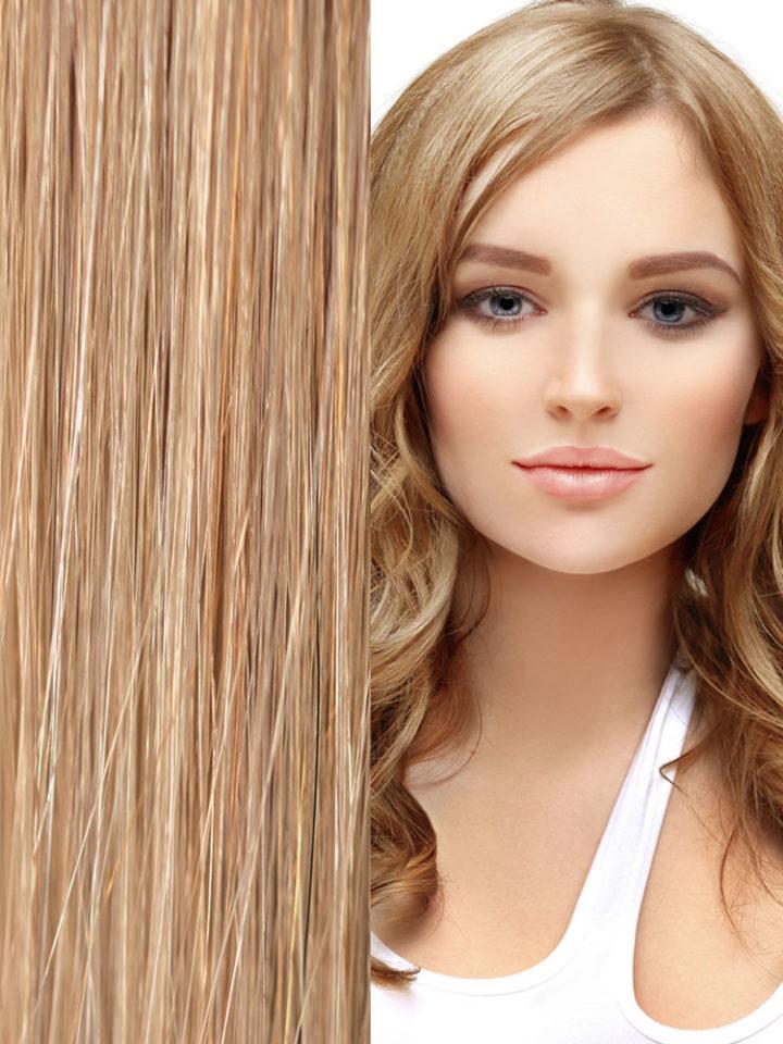 Keratin-Hair-Extension-Medium-Golden-Blond